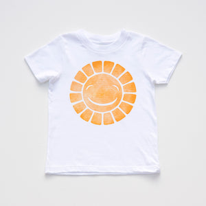 Sunny Go Go: Limited Edition Organic Cotton Hand Pressed Tee