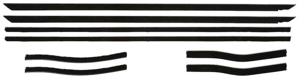 Window Channel Strip Set - Coupe or Convertible