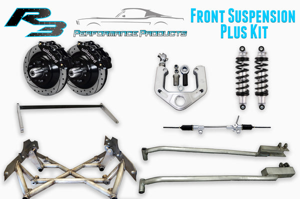 Front Plus Suspension - 64-70 Mustang