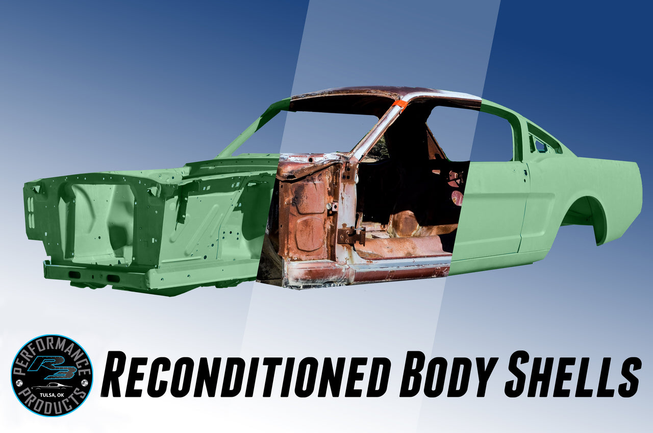Reconditioned Mustang Body Shell