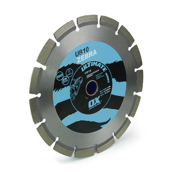 Diamond Blade, OX Concrete Cutting - 230mm (9
