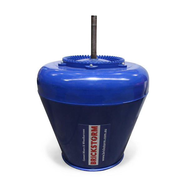 Cement Mixer Bowl, 3.5cf - Brickstorm Tradesman - 245mm Shaft