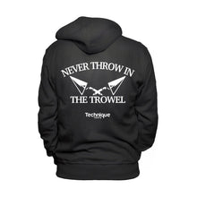 Zip-Up Fleece Hoodie - Never Throw In The Trowel
