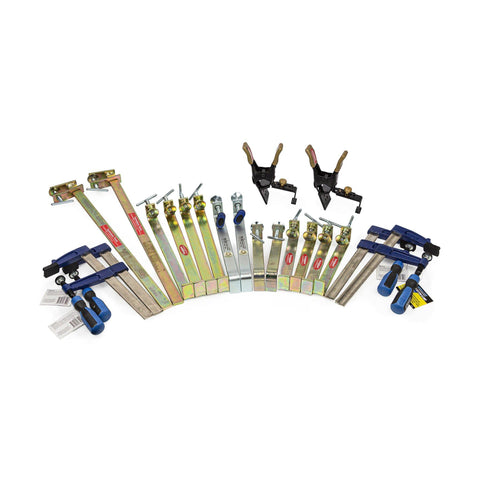 10 Piece Clamp Kit + 2 FREE XL Jag Clamps