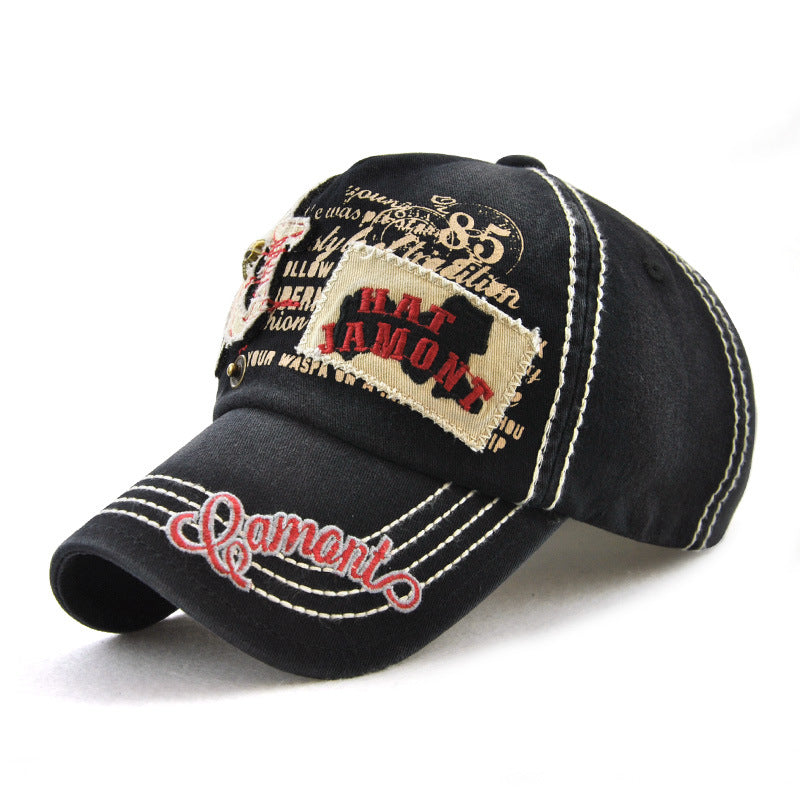 f1080c9c66448f Mens Patch Embroidered Sunshade Snapback Hats Baseball Caps