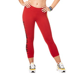 Zumba Varsity Crop Leggings