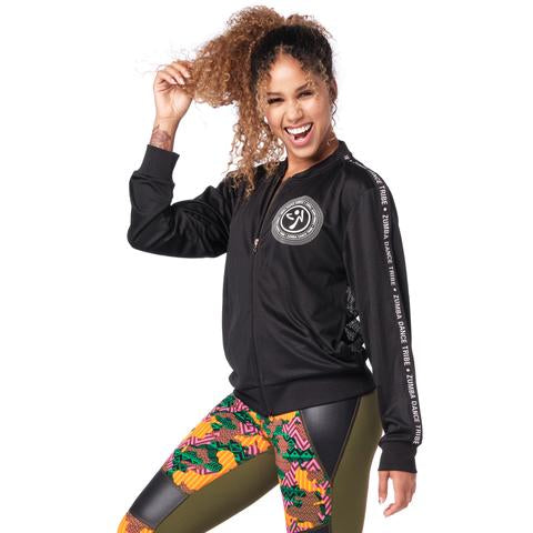 A Tribe Called Zumba Mesh Zip-Up Jacket