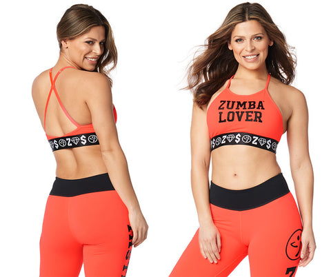 Zumba Lover High Neck Bra