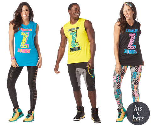 I Want My Zumba Muscle Tank (9 PK)