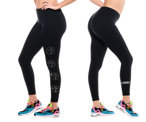 1 LEFT / XS - Zumbito Ankle Leggings with Swarovski Crystals
