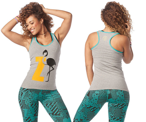 Zumba Happiness Racerback