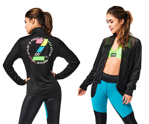 Zumba Stylin' Zip-Up Jacket