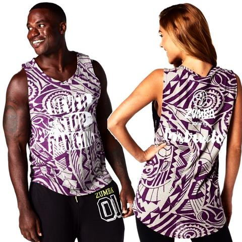 Never Stop Dancing Zumba Toning Instructor Tank