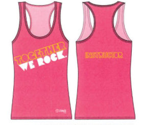 Together we Rock Racerback – Zumba Kids Instructor