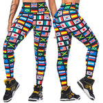 Zumba Spirit High Waisted Ankle Leggings