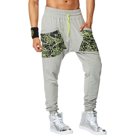 L/XL LEFT - Be Bold Men's Harem Dance Pants
