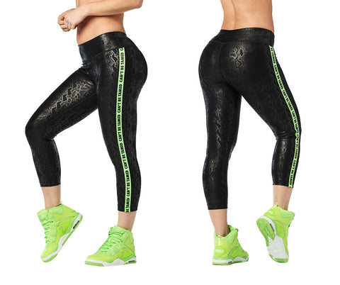 Zumba Wild Crop Leggings