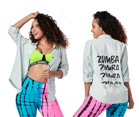 Zumba Forever Button Down