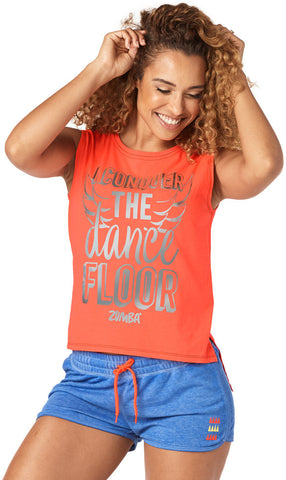 Conquer The Dance Floor Hi Lo Tank