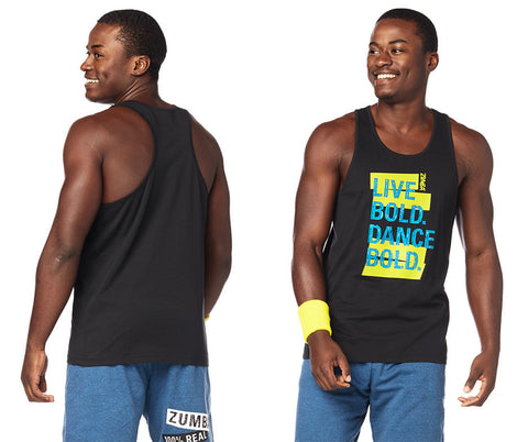 SM LEFT - Dance Bold Mens Tank