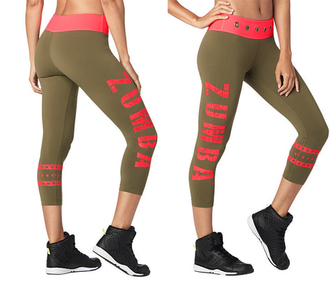 Zumba Power Crop Leggings
