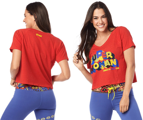 XL/XXL LEFT - Zumba Super Woman Tee