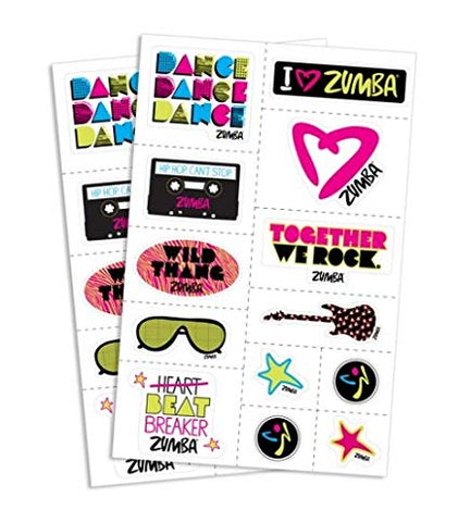 Together We Rock Stickers (26 Stickers - 2 Sheets)