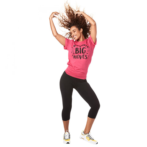 Little Feet Big Moves Zumba Kids INSTRUCTOR Tee