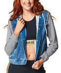 1 LEFT / S - Zumba Crew Denim Jacket