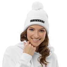 Load image into Gallery viewer, ELEVATE pom pom beanie