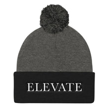 Load image into Gallery viewer, Elevate Pom Pom Knit Cap