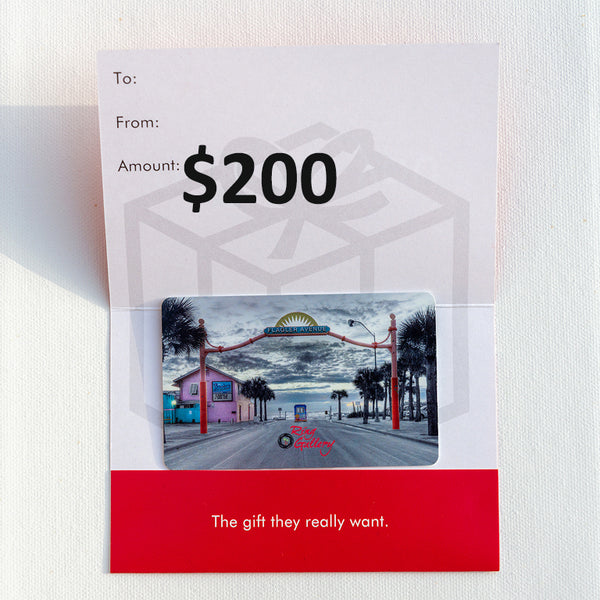 $200 Ring Gallery Gift Card