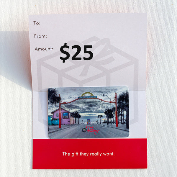$25 Ring Gallery Gift Card