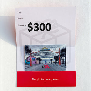 $300 Ring Gallery Gift Card