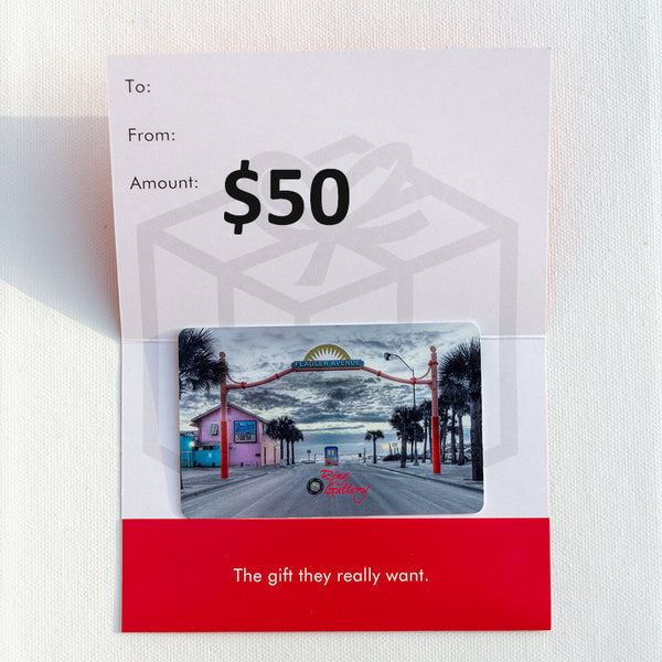 $50 Ring Gallery Gift Card