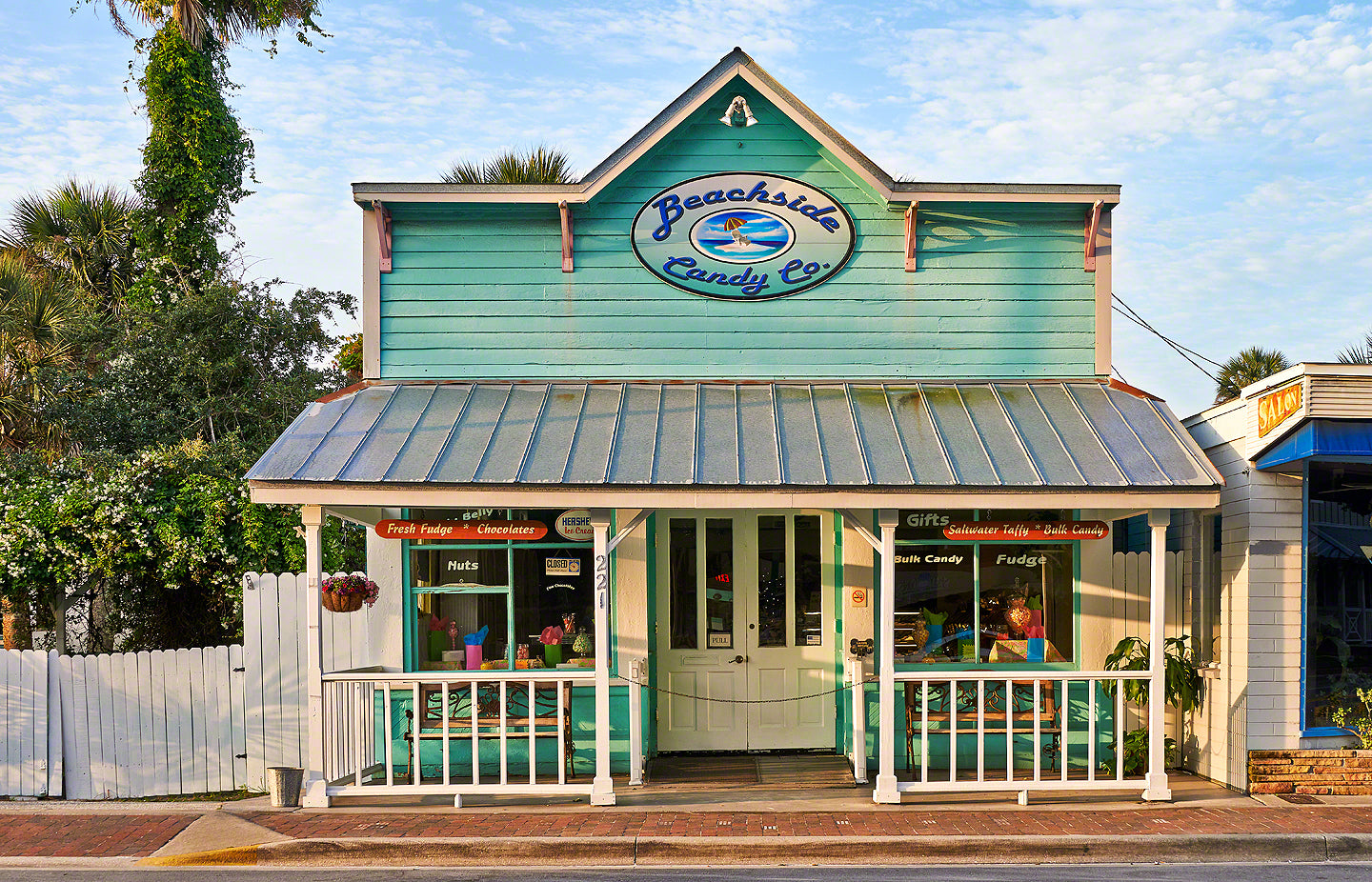 A photo of Beachside Candy store on Flagler Avenue