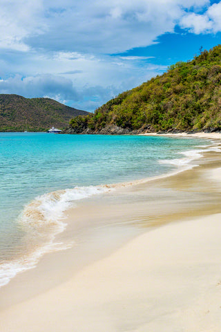 A photo of beautiful Cinnamon Beach on St. Johns Island, USVI