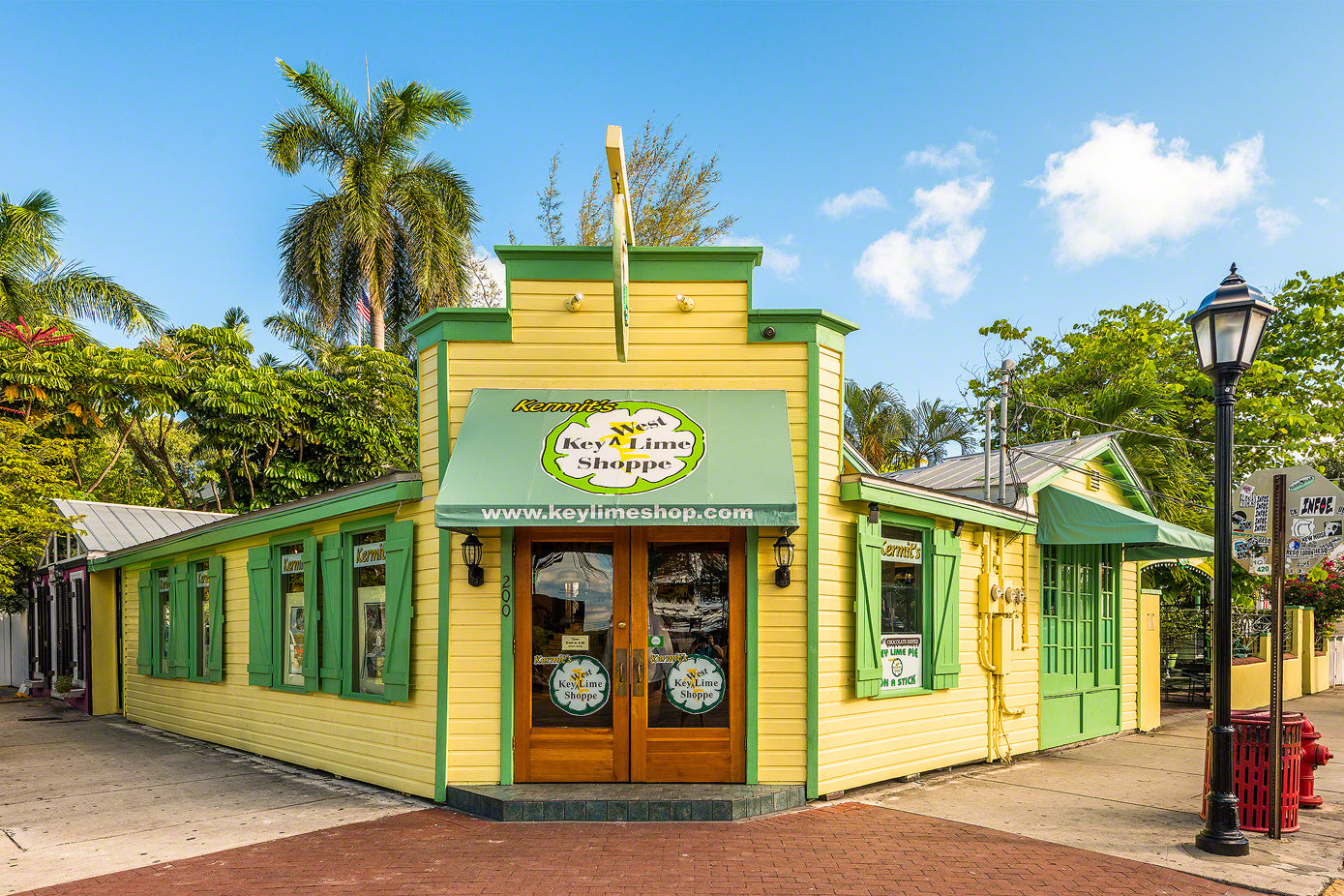 A photo of Kermit's Key Lime Shoppe in Key West, Florida