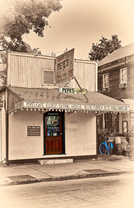 A photo of Pep'e Cafe the oldest Restaurant in Key West, Florida
