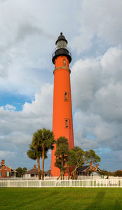 A photo of the Ponce Inlet Lighthouse