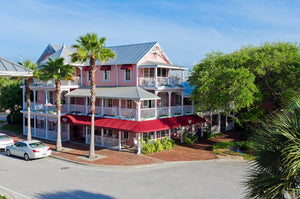 A photo of the Riverview Hotel in New Smyrna Beach