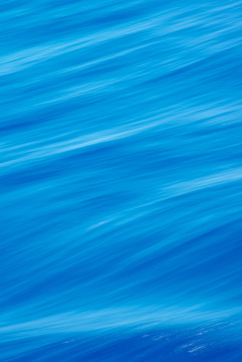 A photo of the swirling water of the Caribbean Sea.