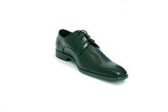 Black Matte Lace Uniform Tuxedo Shoe