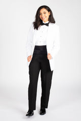 White Shawl Dinner Jacket