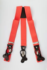 Button and Clip Suspenders (11 colors available)