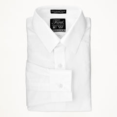 Laydown Dress Shirt - White - Men's