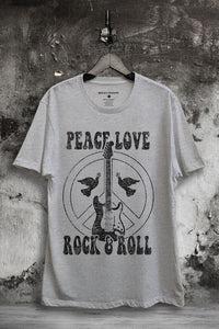 Peace & Love Graphic Tee