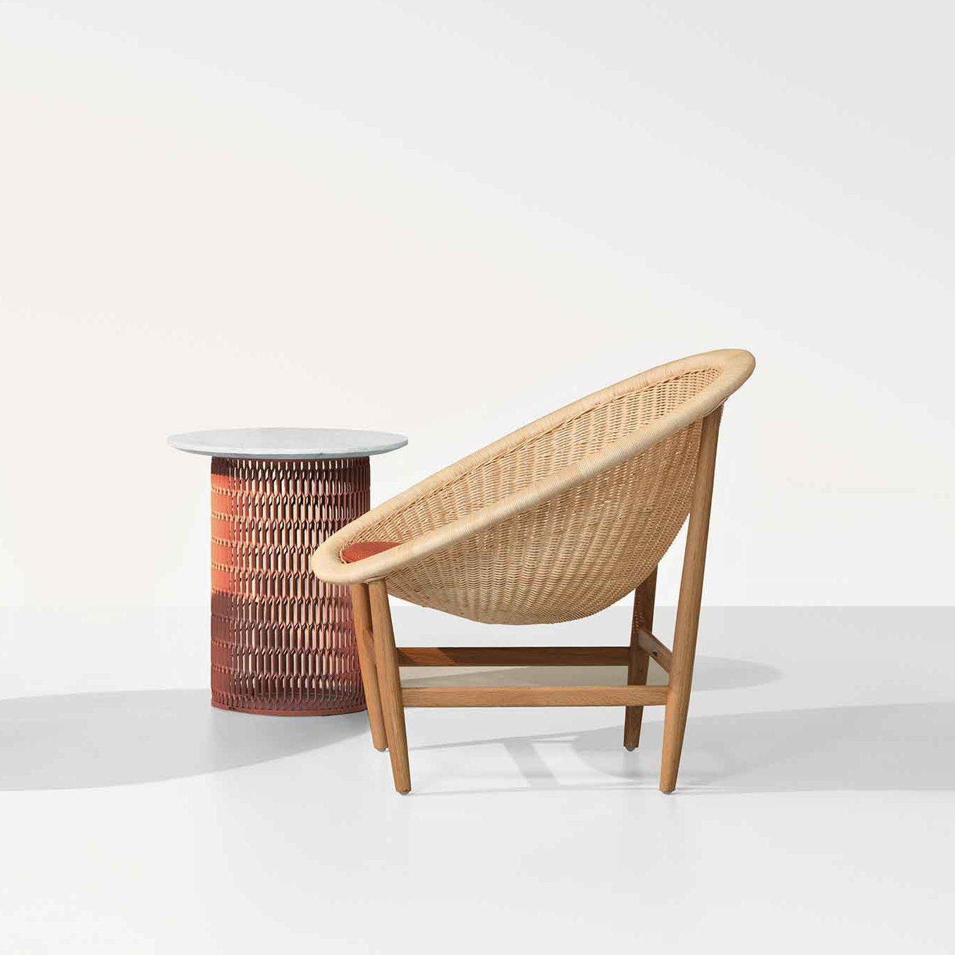 Kettal Basket Side Table