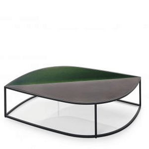 Roda Leaf low coffee table gres top