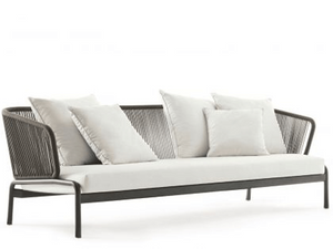 Roda Spool Sofa 003 in grau